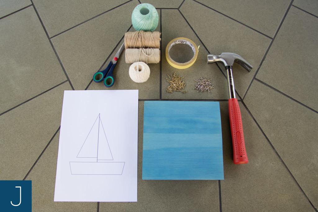 String art - materiały i narzędzia | Justine Crafts