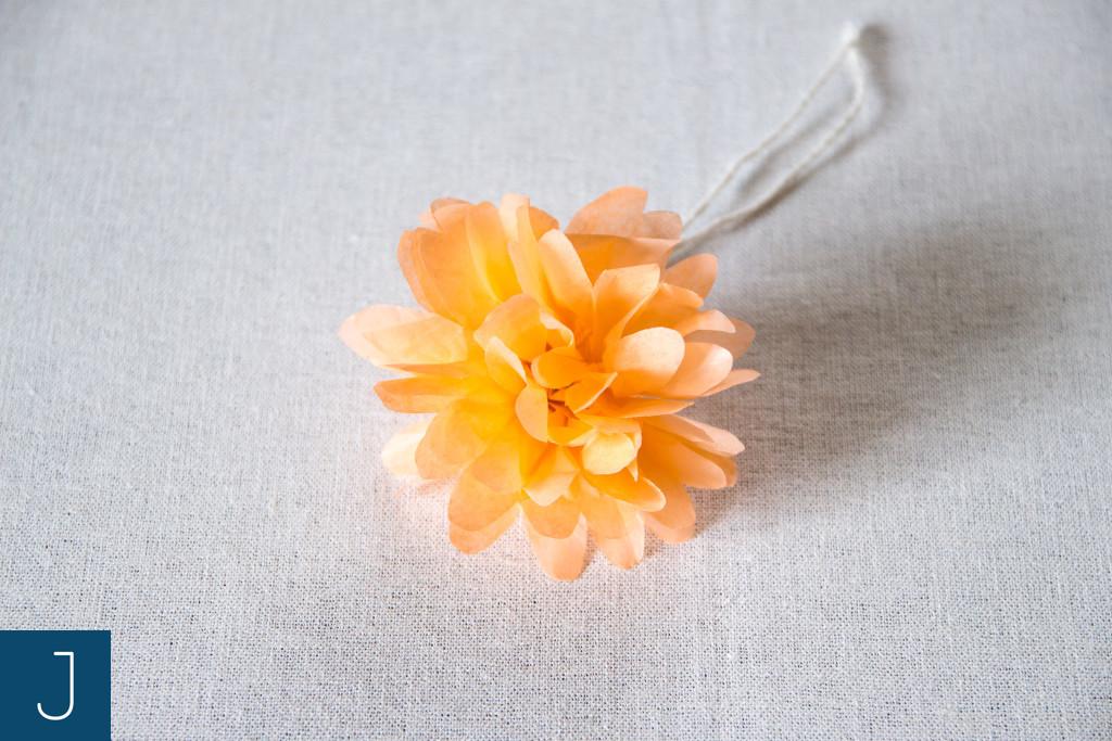 Letni wianek - kwiat | Justine Crafts