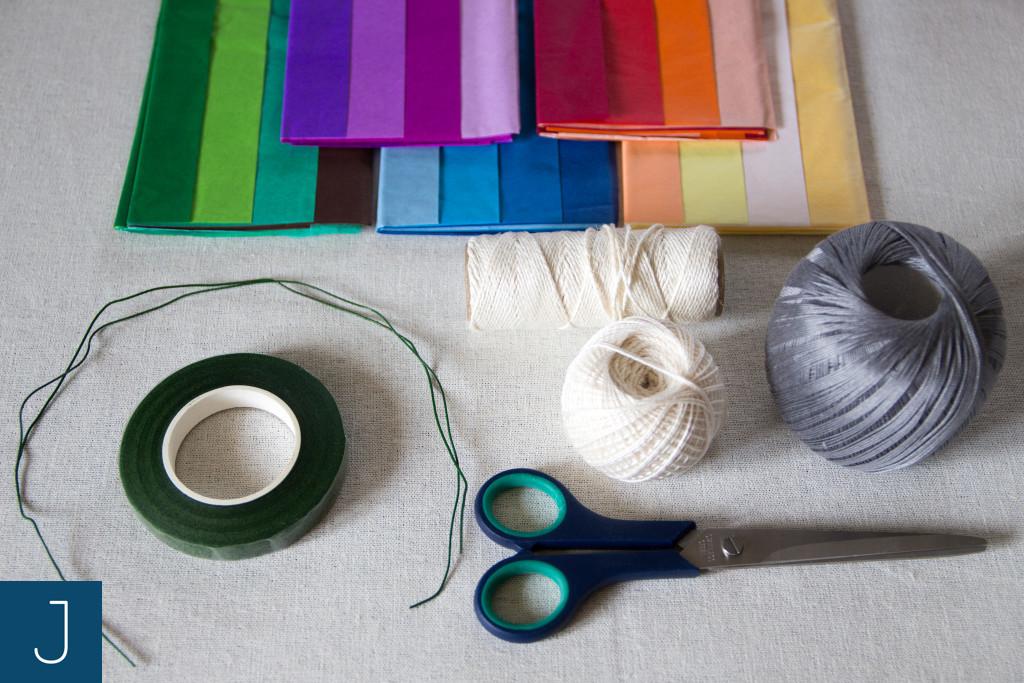 Letni wianek - materiały | Justine Crafts