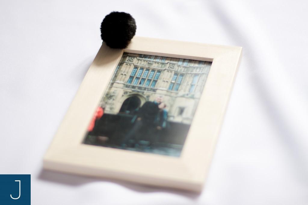 Futrzane kulki - ramka | Justine Crafts