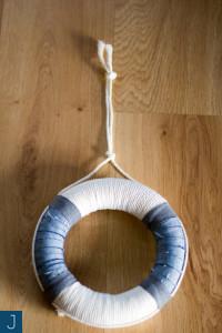 Jak zawiesić wianek lub lekki obrazek? - wianek, sznurek 2 |Justine Crafts