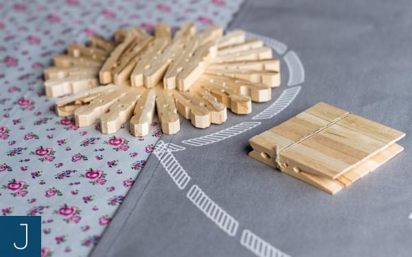Drewniane podkładki pod kubek | Justine Crafts