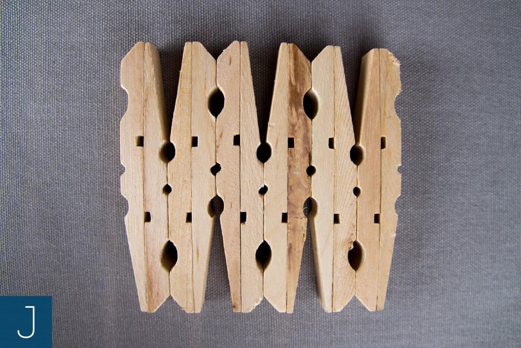 Drewniane podkładki pod kubek - mała 1 | Justine Crafts