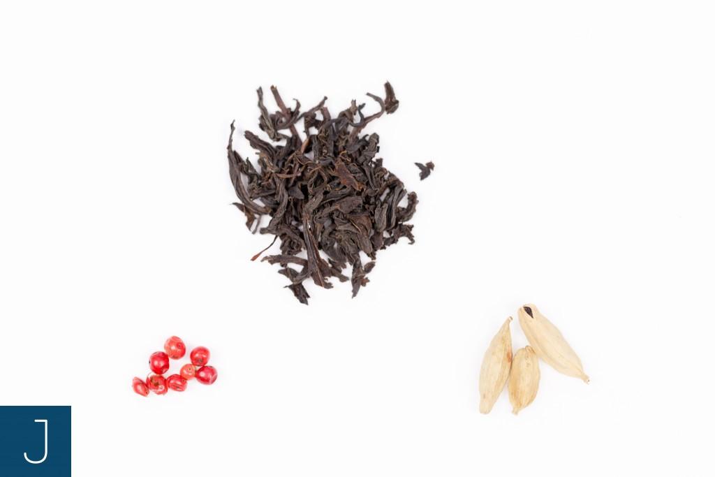 Rozgrzewająca herbata - skład | Justine Crafts