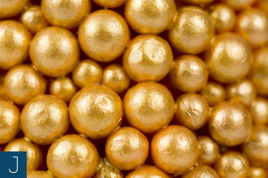 Choinkowy zawrót głowy cz. 2 – bąbelkowe choinki - złoto detal | Justine Crafts
