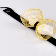 Bransoletka Gold Bow | Justine Crafts