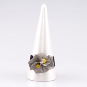 Bransoletka Twist Rose żółta | Justine Crafts