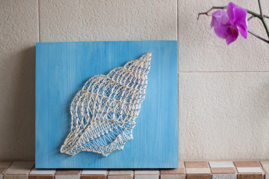 String art - Muszla 3| Justine Crafts