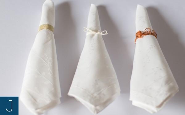Pierścień na serwetkę | Justine Crafts