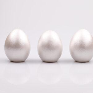 Justine Crafts | Jajka - perłowe