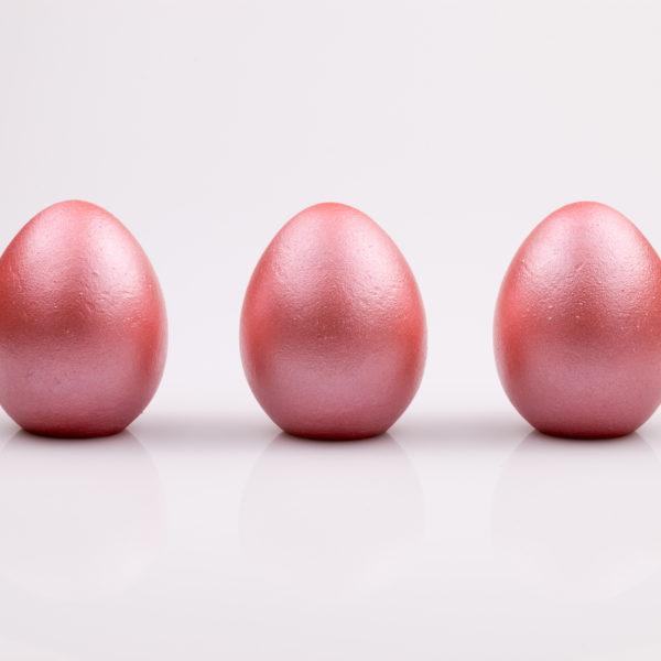 Justine Crafts   Jajka - różowe