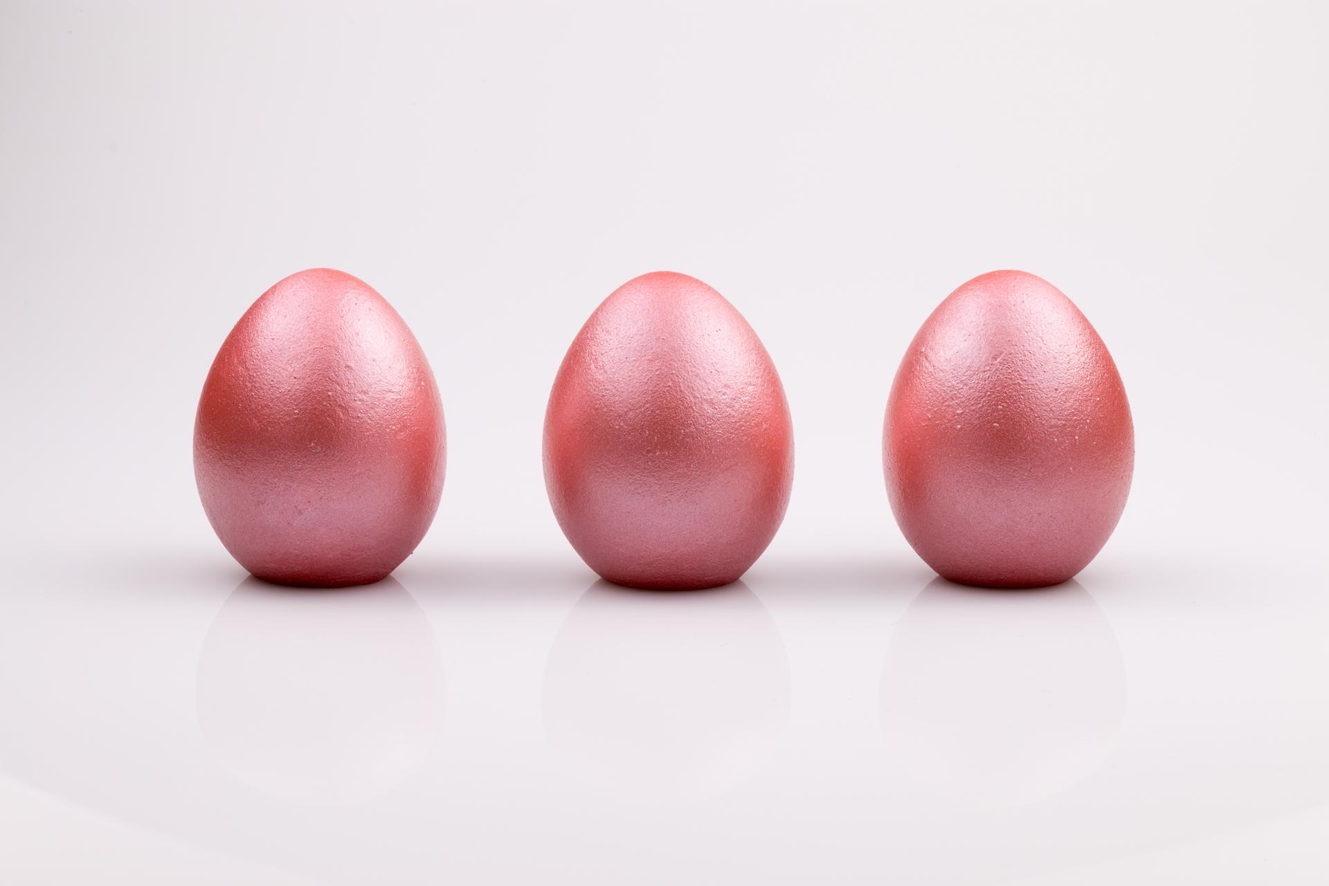 Justine Crafts | Jajka - różowe