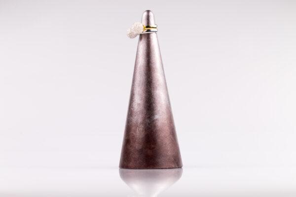 Justine Crafts | Stożek srebrno-czekoladowy