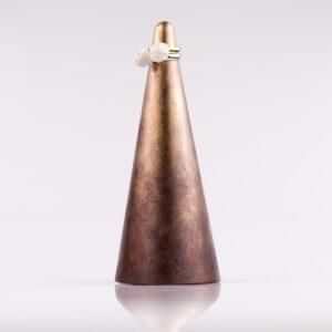Justine Crafts | Stożek złoto-czekoladowy