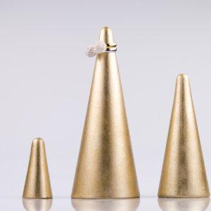 Justine Crafts | Zestaw stożków w kolorze złotym