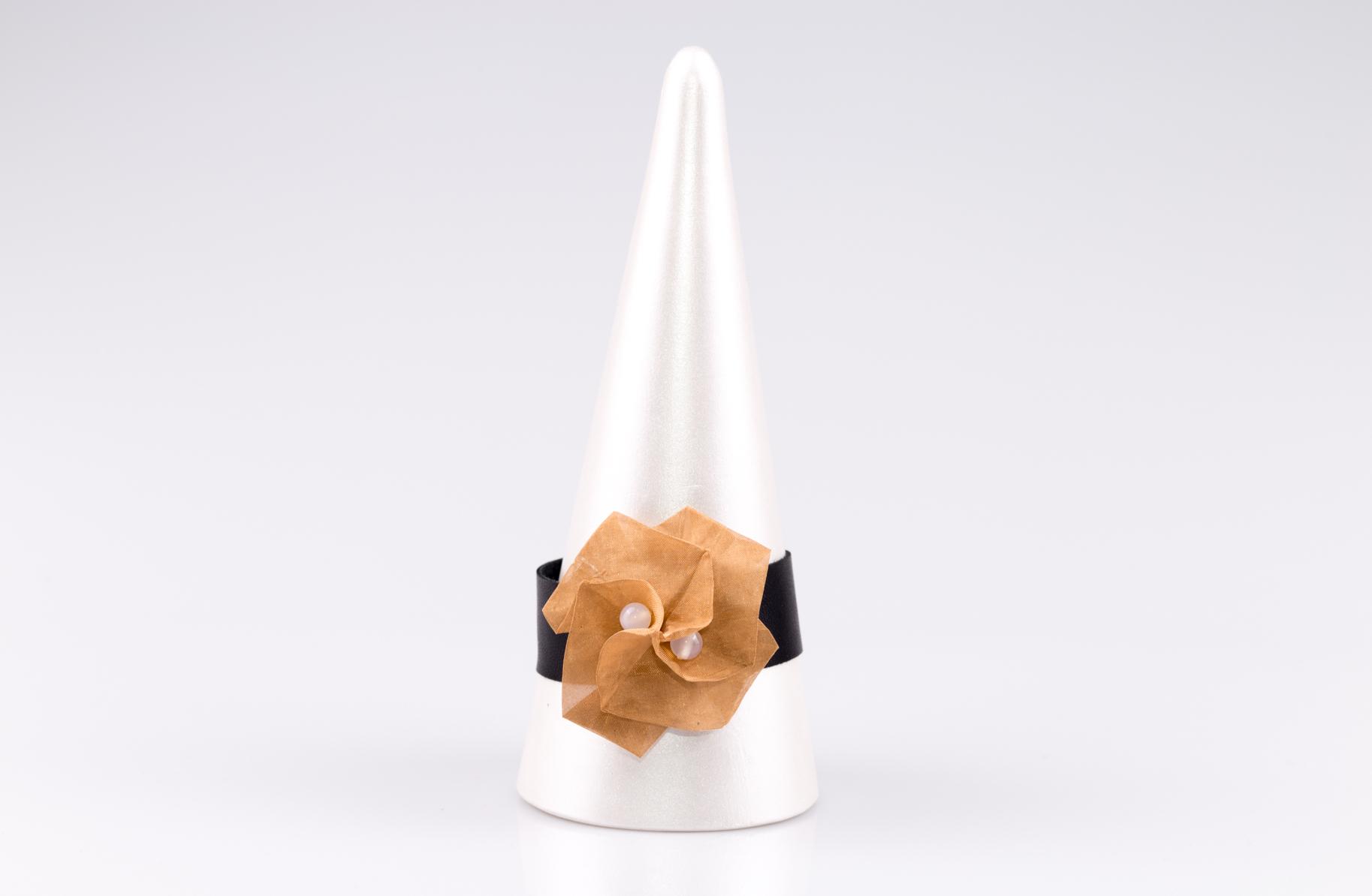 Bransoletka Twist Rose z brązu | Justine Crafts