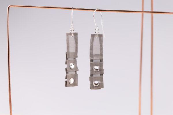 Kolczyki z kryształkami Swarovski 2 | Justine Crafts