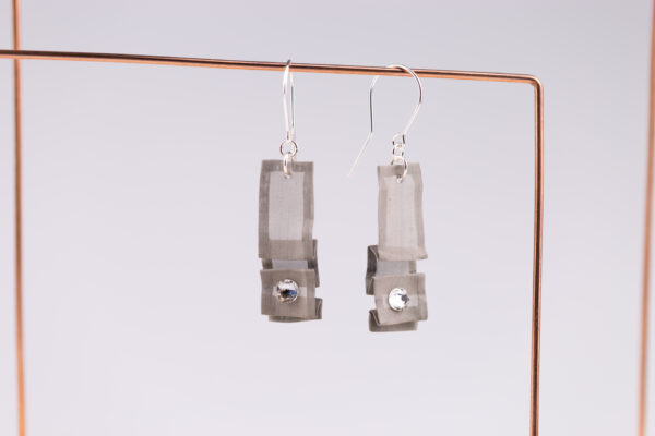 Kolczyki z kryształkami Swarovski | Justine Crafts