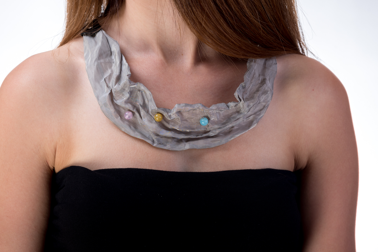 Naszyjnik z agatami | Justine Crafts