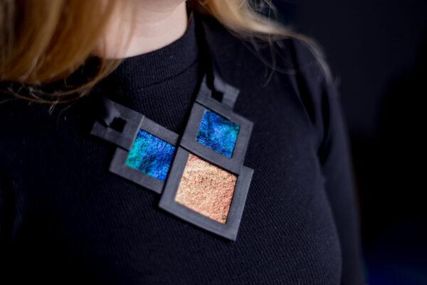 Naszyjnik geometryczny 356 | Justine Crafts Jewelry