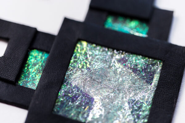 Naszyjnik geometryczny 346   Justine Crafts Jewelry
