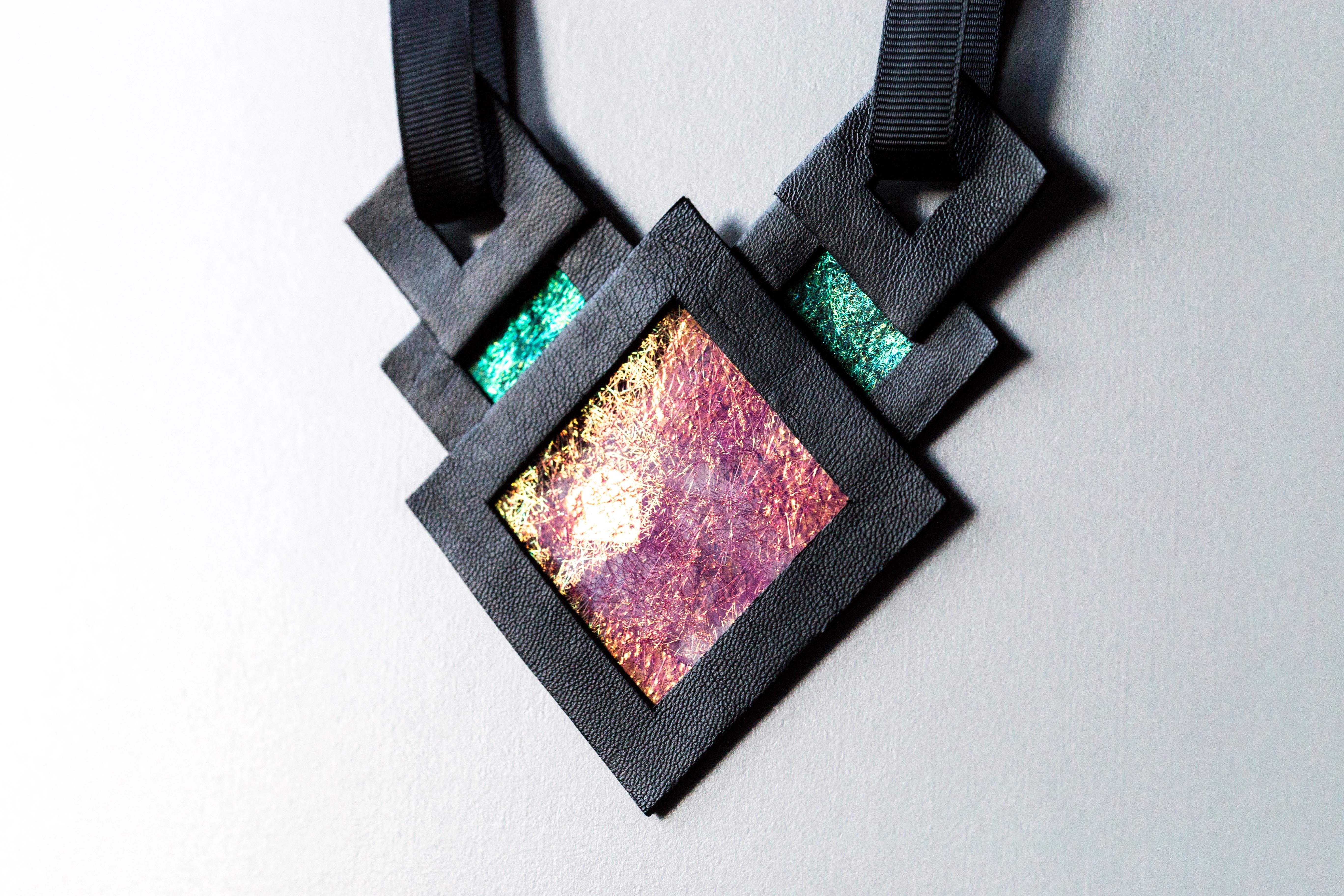 Naszyjnik geometryczny 346 | Justine Crafts Jewelry