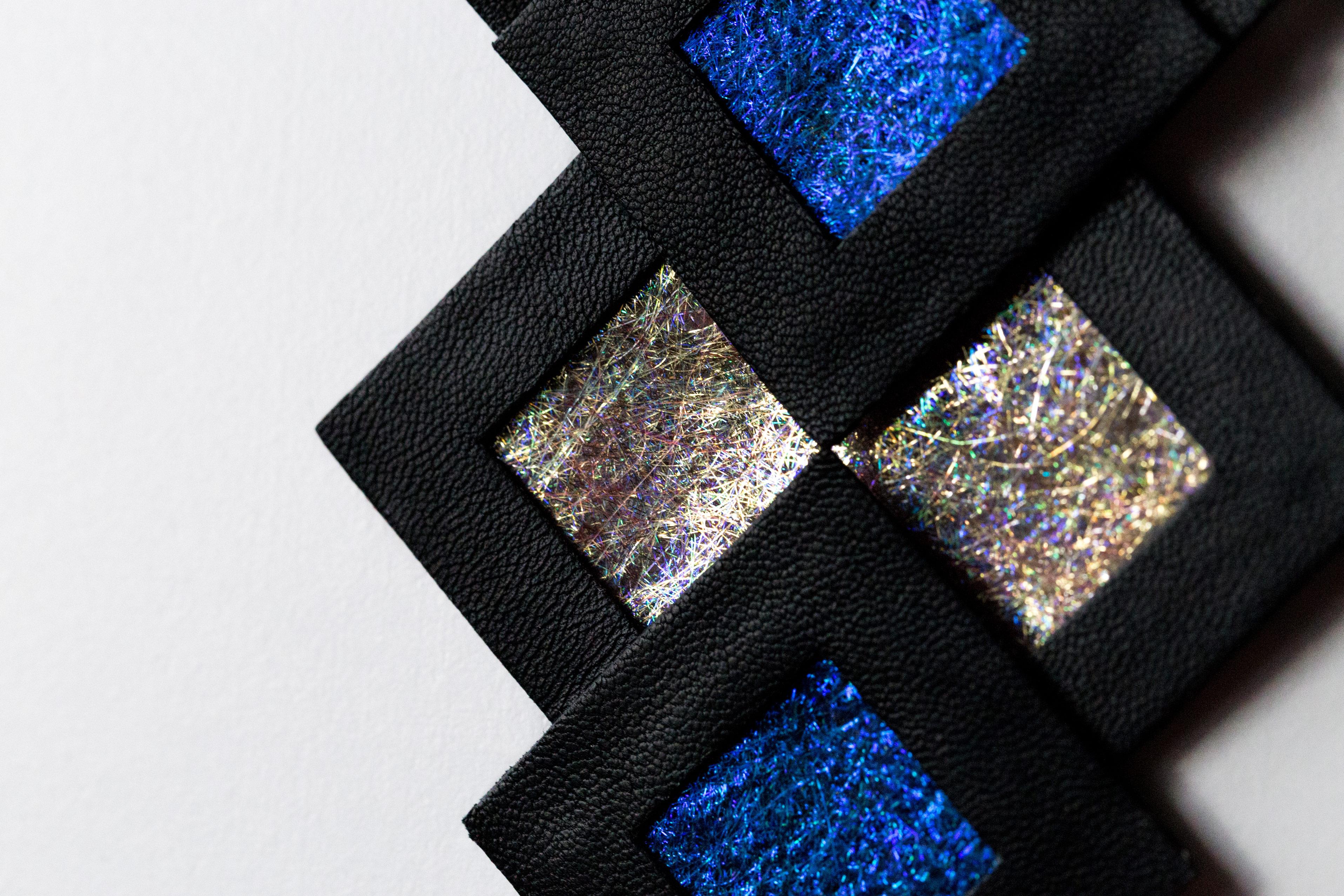 Naszyjnik Naszyjnik geometryczny 34643 BG | Justine Crafts Jewelry 10geometryczny 34643 B&G | Justine Crafts Jewelry 10