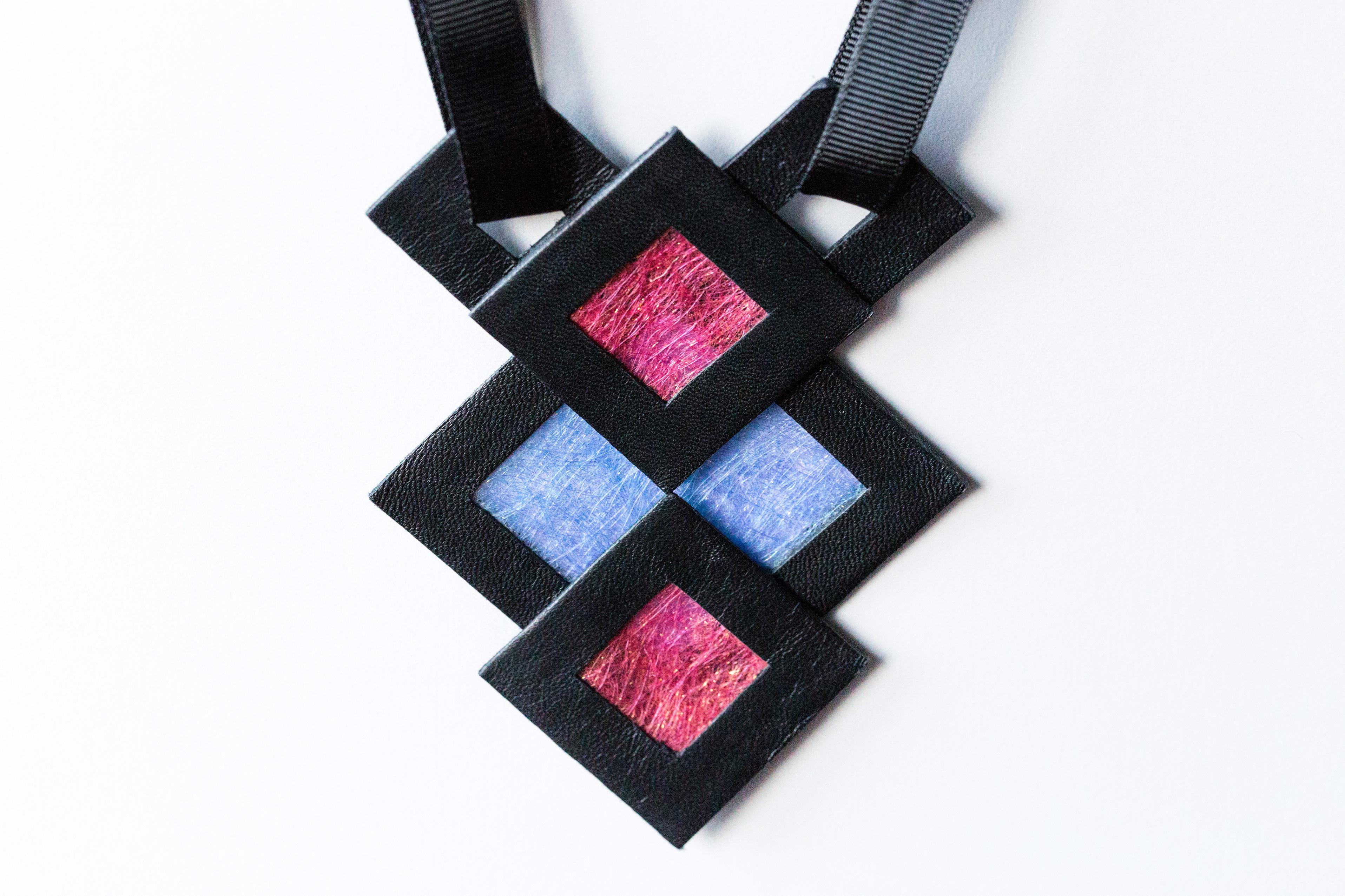 Naszyjnik geometryczny 34643 | Justine Crafts Jewelry