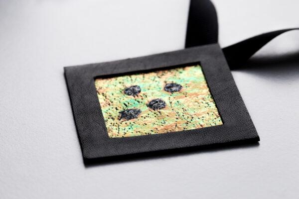 Naszyjnik geometryczny kwadrat 6 GF4 | Justine Crafts Jewelry