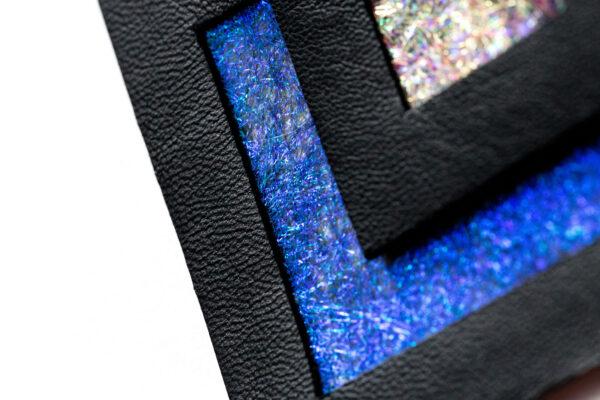 Naszyjnik geometryczny kwadrat 64 BG | Justine Crafts Jewelry