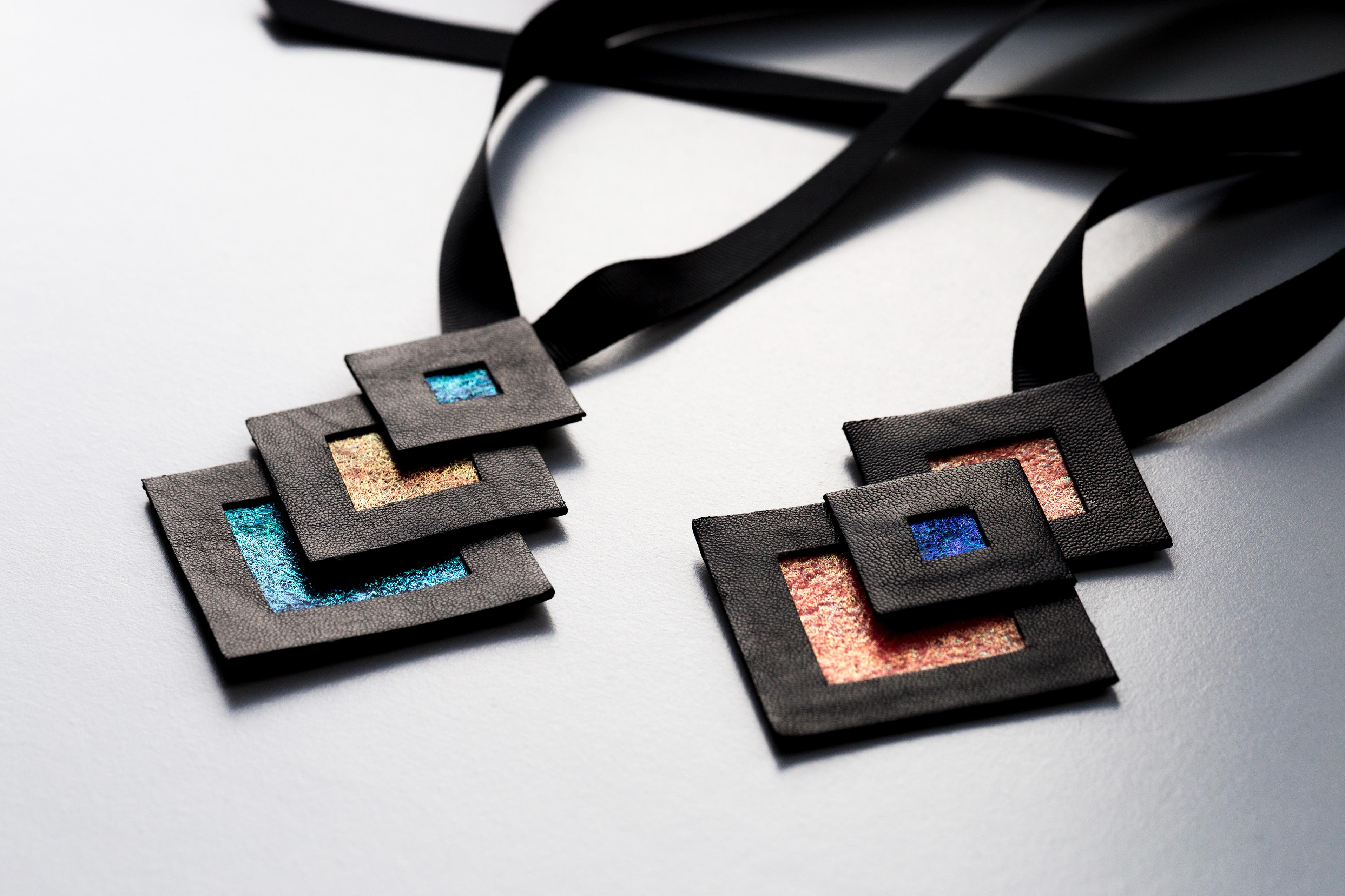 Naszyjniki geometryczne | Justine Crafts Jewelry