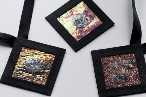 Naszyjniki geometryczne kwadraty 6 | Justine Crafts Jewelry GF4