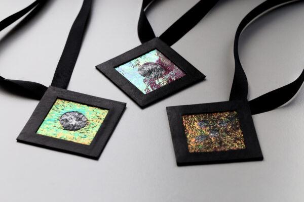 Naszyjniki geometryczne kwadraty 6 | Justine Crafts Jewelry PF4