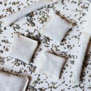 Lawendowe saszetki | Lawendowa saszetka wisząca | Saszetka lawendowa