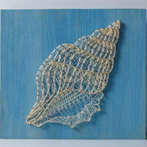 string art muszla