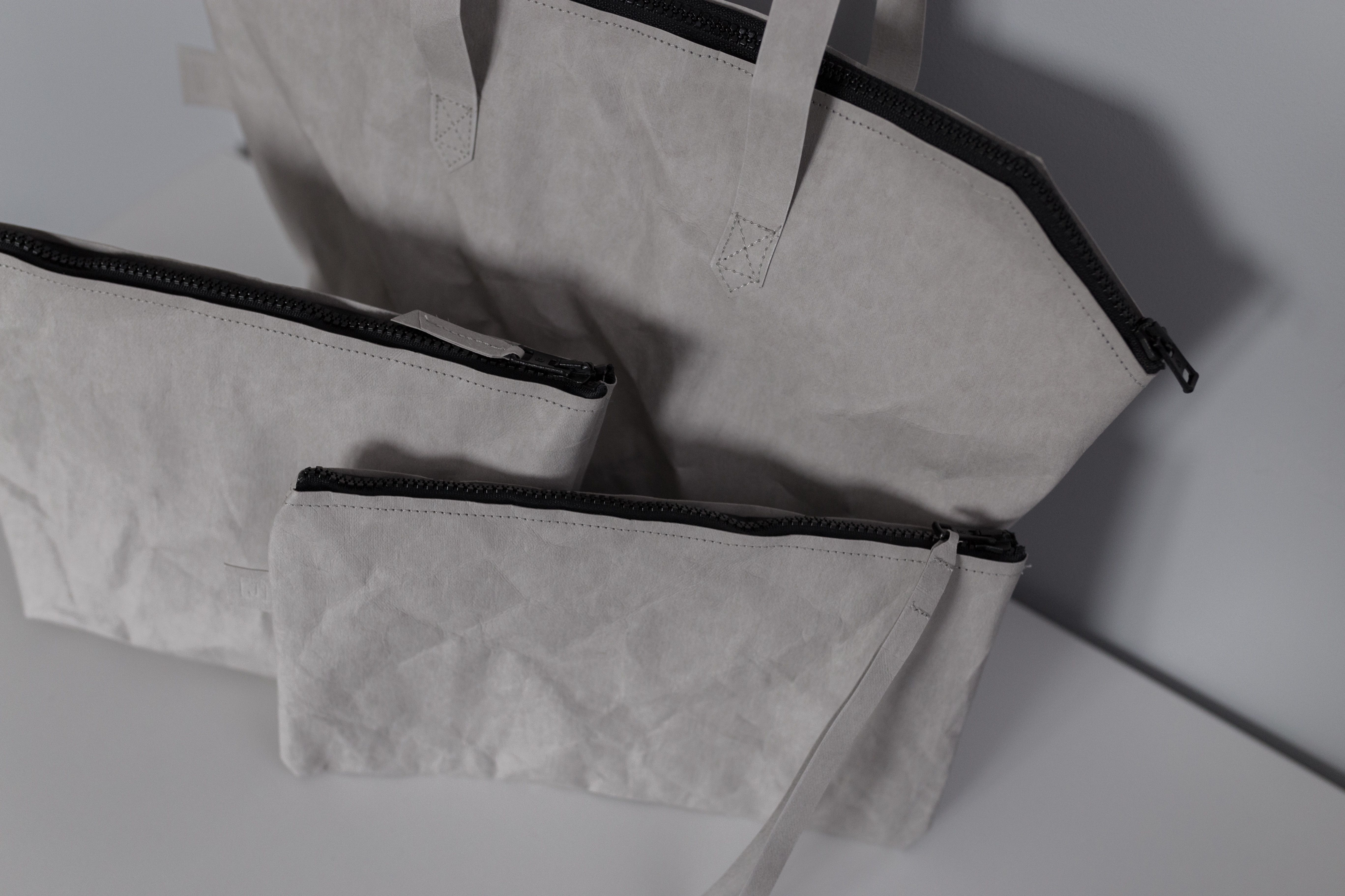Szary zestaw 3 toreb