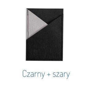 Wizytownik CZARNY + SZARY