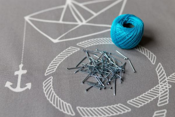 Zestaw DIY String Art 20x20 | Justine Crafts
